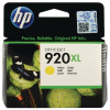 HP 920XL High Yield Yellow Ink Cartridge (Capacity:700 pages) CD974AE