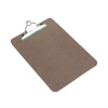 Rapesco A5 Hardboard Clipboard (Heavy duty chrome clip with hanging hole) 1402