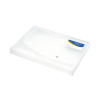 Rapesco A4 Rigid Wallet Box File 25mm Clear 0708