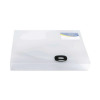 Rapesco Rigid Wallet Box File 40mm A4 Clear (40mm capacity, holds up to 400 sheets) 0711