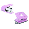 Rapesco 825 2 Hole Punch Pink with Free Stapler HT810926