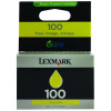 Lexmark 100 Yellow Return Program Inkjet Cartridge 14N0902E