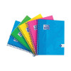 Oxford Touch Wirebound Hardback Notebook A5 Assorted (Pack of 5) 400110083