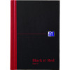 Black n Red Casebound Notebook A5 192 Pages Pk5 Buy 1 Get 1 Free JD831009