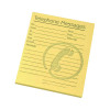 Challenge Telephone Message Pad 127x102mm Yellow (Pack of 10) 100080477