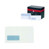 Plus Fabric DL Window Envelopes 110gsm Wallet Self Seal White (Pack of 500) J22370
