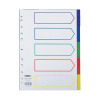 Concord Polypropylene A4 Divider 5 Part Multicoloured 06801