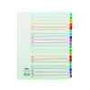 Concord A-Z A4 Extra-Wide For Punched Pocket White With Multi-Colour Index Tabs 07801/CS78