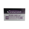 Concord Record Card 127x76mm Assorted (Pack of 100) 16099/160