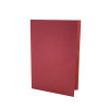 Guildhall Foolscap Red Mediumweight Square Cut Folder (Pack of 100) FS250-REDZ