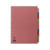 Concord 10-Part 10-Colour Dividers A4 Assorted 72299/J22