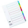 Concord 10-Part A5 White With Multi-Colour Index Tabs 07601/CS76