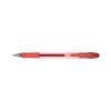 Q-Connect Quick Dry Gel Pen Medium Red (Pack of 12) KF00680