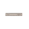Q-Connect Clear 150mm/15cm/6inch Ruler KF01106