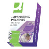 Q-Connect 54x86mm Laminating Pouches 250 Micron (Pack of 100) KF01203