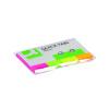 Q-Connect Quick Tabs 19 x 43mm Transparent Pack of 200 KF01225