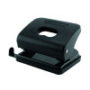 Q-Connect Medium Duty Hole Punch Black 87