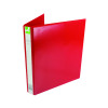 Q-Connect Presentation 25mm 4D-Ring Binder A4 Red KF01326