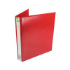 Q-Connect Presentation 25mm A4 Red 4D-Ring Binder KF01326