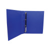 Q-Connect Presentation 25mm 4D Ring Binder A4 Blue KF01327