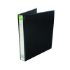 Q-Connect Presentation 25mm A4 Black 4D-Ring Binder KF01328
