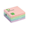 Q-Connect Quick Notes Cube 76 x 76mm Pastel KF01347