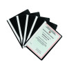 Q-Connect Project Folder A4 Black (Pack of 25) KF01453