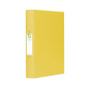 Q-Connect 25mm 2 Ring Binder Polypropylene A4 Yellow (Pack of 10) KF01472