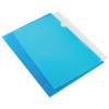 Q-Connect Blue Cut Flush A4 Folder (Pack of 100) KF01486