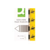 Q-Connect Quick Signature Markers 20 x 50mm Yellow (Pack of 160) KF01979