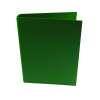 5 Star Office Ring Binder 2 O-Ring Size 25mm Paper on Board A4 Green [Pack 10]