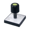 Q-Connect Voucher For Rubber Stamp 75x35mm KF02102