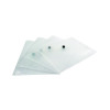 Q-Connect A5 Clear Polypropylene Popper Folder (Pack of 12) KF02470