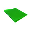Q-Connect 2 Ring Frosted Green A4 Binder KF02484