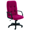 Arista High Back Manager Chair Claret KF03421
