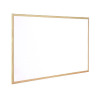 Q-Connect Wooden Frame Whiteboard 1200x900mm KF03572