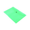 Q-Connect A4 Blue Polypropylene Popper Folder (Pack of 12) KF03596