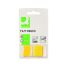50 x Q-Connect Page Marker Yellow (Removable adhesive for easy re-positioning) KF03634