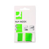50 x Q-Connect Page Marker Green (Size: 25mm comes with dispenser) KF03635