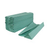 2Work Green 1-Ply C-Fold Hand Towel (Pack of 2880) HC128GR