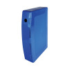Q-Connect Box Foolscap File Polypropylene Blue KF04103