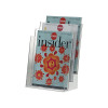 Q-Connect Three Pocket Literature Holder A4 KF04188