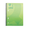 Q-Connect Green A5 Polypropylene Notepad (Pack of 5) KF10033