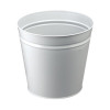 Q-Connect Metal Waste Bin 15 Litre Grey KF12011