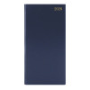 Portrait Slim Diary Week to View 2020 Blue KF1BU20
