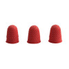 Q-Connect Thimblettes Size 00 Red (Pack of 12) KF21507