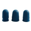 Q-Connect Blue Rubber Thimblettes Size 1 (Pack of 12) KF21509