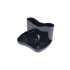 Q-Connect Black Executive Desk Tidy KF21704