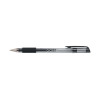 Q-Connect Gel Rollerball Pen Medium Black (Pack of 10) KF21716