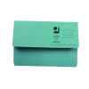 Q-Connect Document Wallet Foolscap Blue (Pack of 50) KF23011